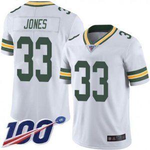 Packers Aaron Jones 100th Season Jersey